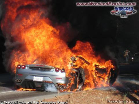 Why Supercars Catch Fire So Fast General Car Discussion