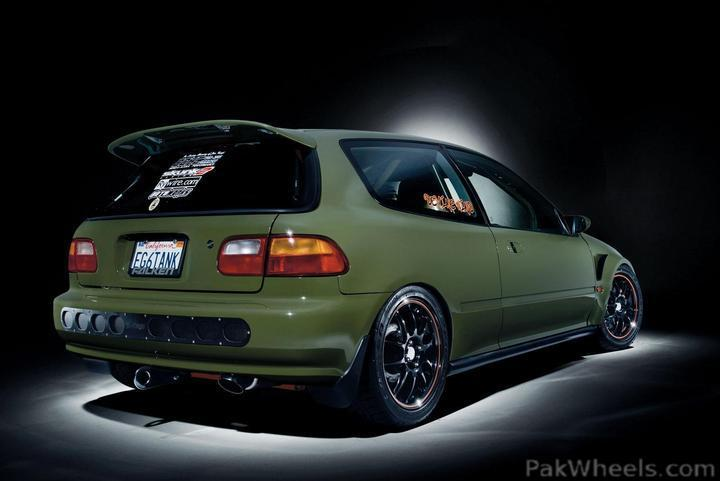 1992 Honda Civic Cx Modified Vintage And Classic Cars