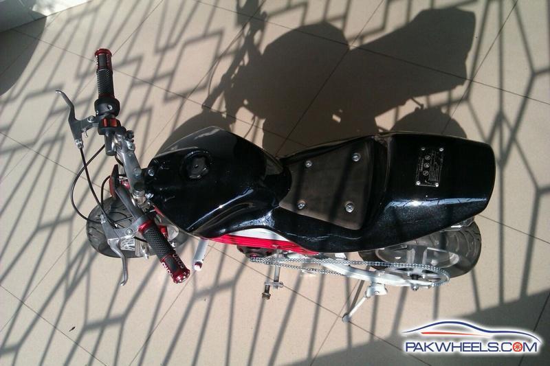 My Pearl Black N Blood Red Two Stroke Mini Bike Fully Restored Diy