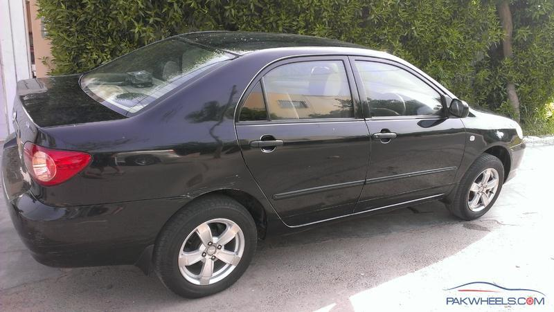 Toyota Corolla Xli 2007 Black First Owner (For Sale) (Khi ...