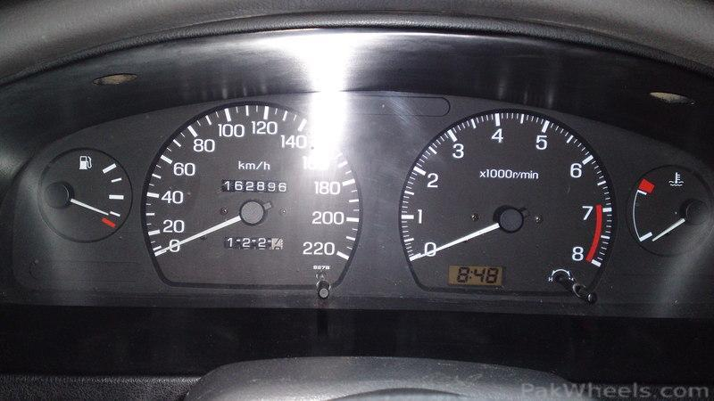 Nissan B13 Odometer With Auto Transmission Signs - Mechanical  Electrical