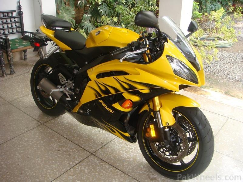 for sale 2008 yamaha yzf r6 bumble bee cars pakwheels forums. Black Bedroom Furniture Sets. Home Design Ideas