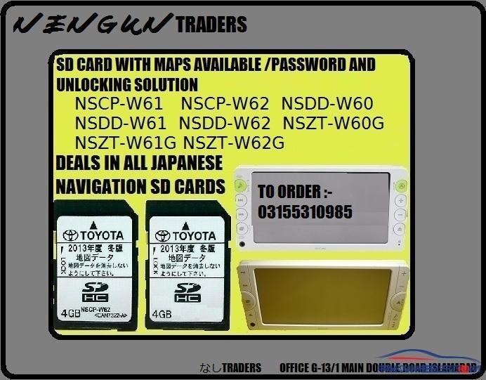 Change nszt-w62g language Multi AV