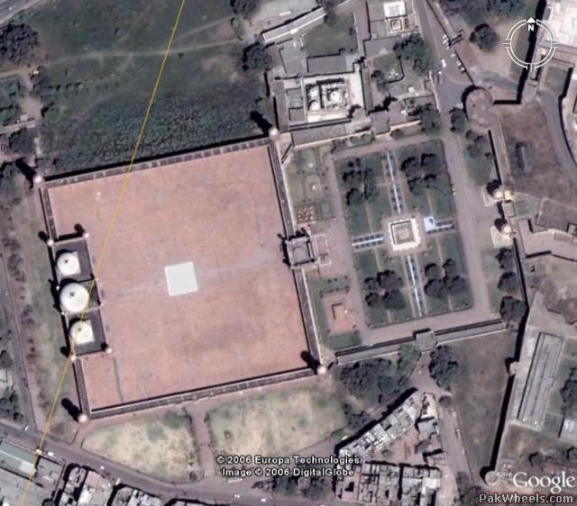 Satellite Images of Lahore (Google Earth) - Car Parts - PakWheels Forums