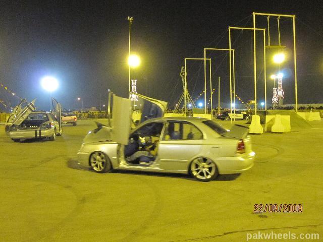 Nissan Altima Price In Pakistan >> Decorated Cars on eid-ul-fitr 2009 (Riyadh, KSA) - Vintage and Classic Cars - PakWheels Forums