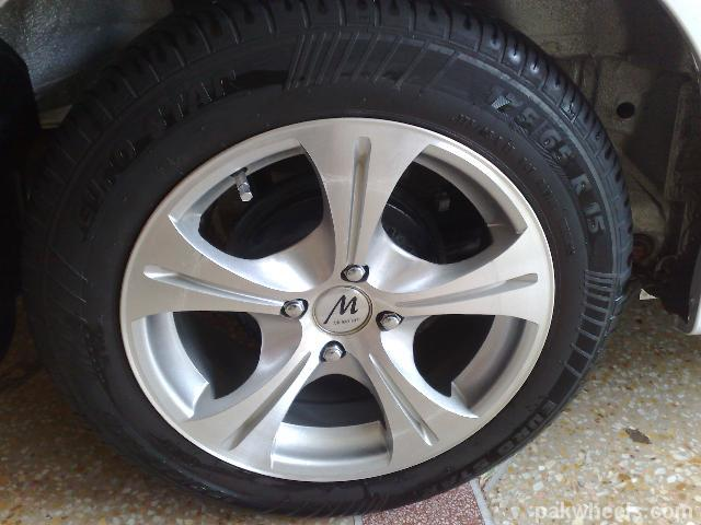 15 inch tyres euro star and rims for sale car parts pakwheels forums. Black Bedroom Furniture Sets. Home Design Ideas