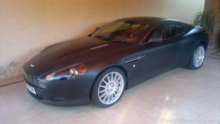 Matte Black Aston Martin In Pakistan Wheels Photography And Videos