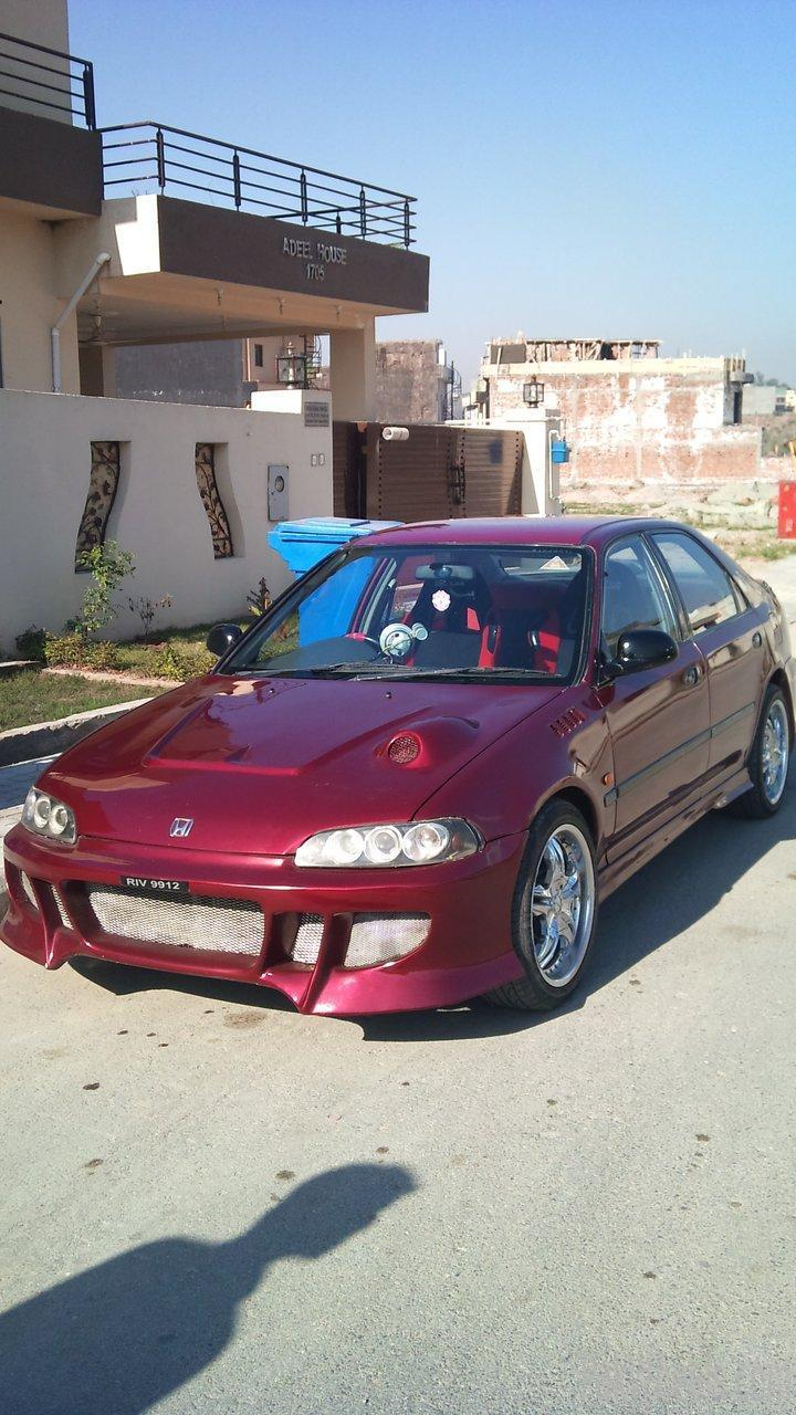 honda civic 1995 modified for sale cars pakwheels forums