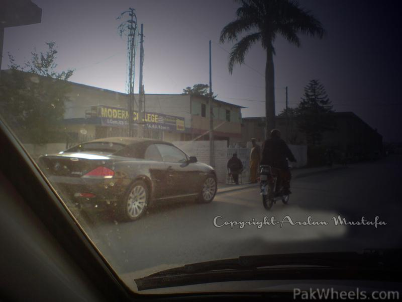 BMW 6 Series Convertible spotted in RWP - Spotting / Hobbies & Other