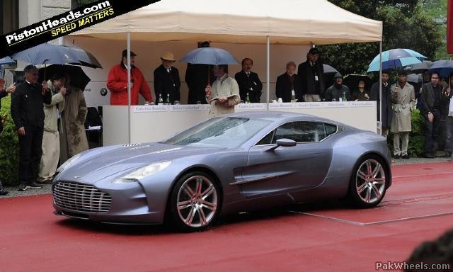 Video Aston Martin One 77