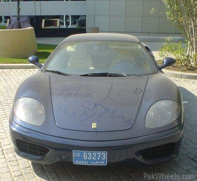 Luxuries in dust after recession in Dubai - Spotting / Hobbies
