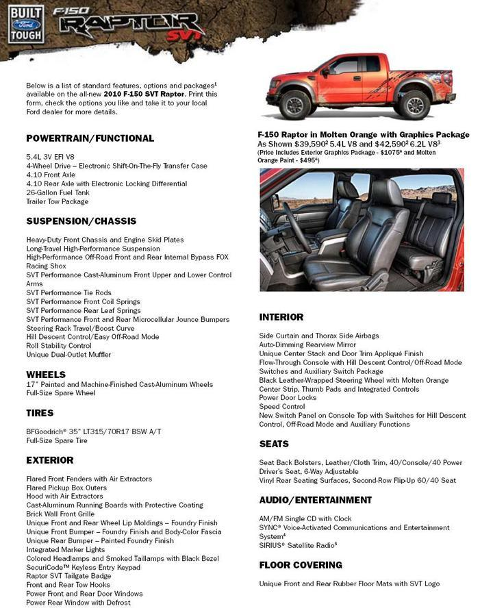 2010 Ford F150 Bed Dimensions