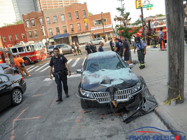 Spotted another Crash today   Lincoln MKZ - Spotting
