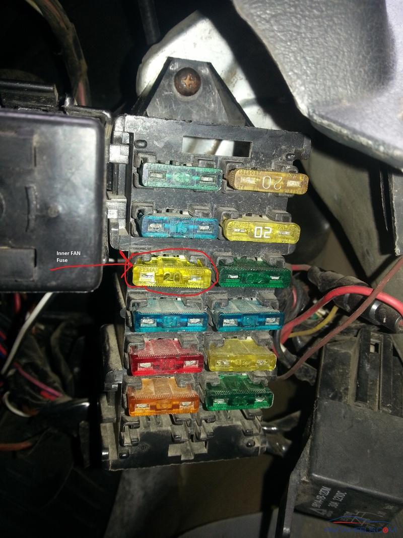 Suzuki Mehran Inner Fan Fuse Issue Mehran Pakwheels Forums