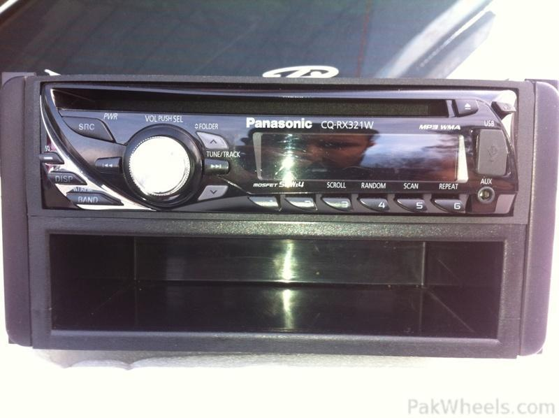 Panasonic car mp3 cd player with usb and remote of corolla ...