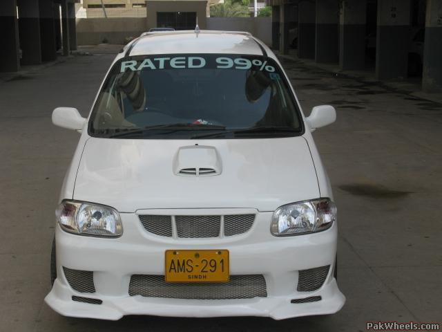 Suzuki alto vxr 2007 the best in karachi alto for Alto car decoration