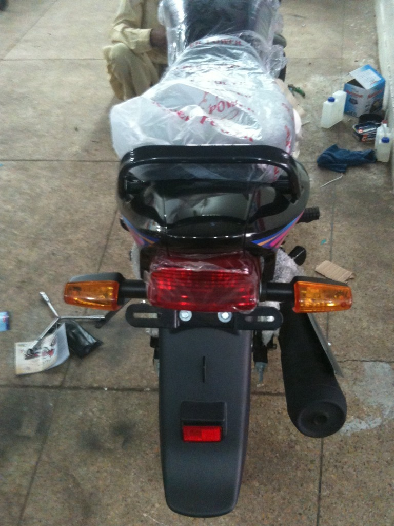 My new ride-Super Power 125cc Delux - General Motorcycle