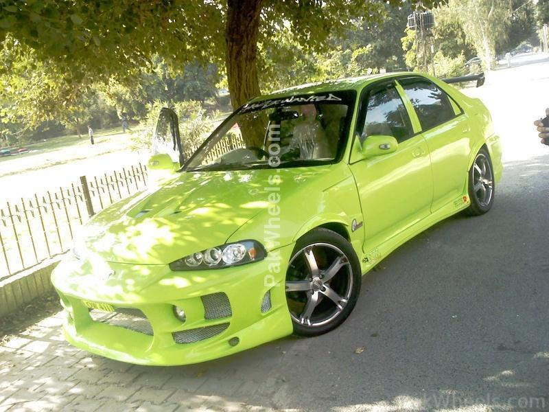 honda civic for sale 1995 parrot green modifiedriced p