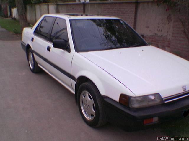 Honda ACCORD 86 model 4 Sale (pics) - Cars - PakWheels Forums