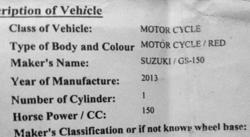 Suzuki GS-150 - URGENT Help needed - Suzuki Bikes