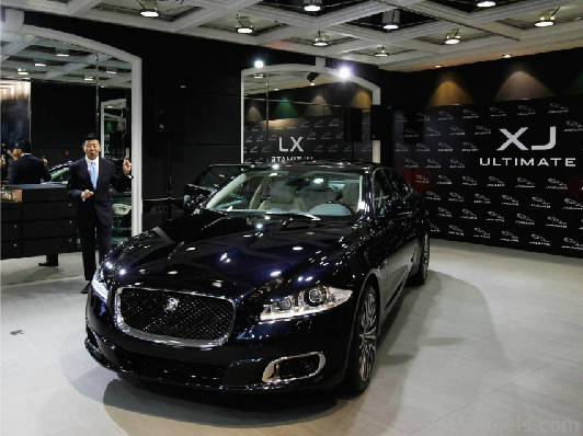 ... XJ Ultimate, The Most Luxurious Jaguar Sedan Ever Made By The British  Automotive Manufacturer With A Retail Price Of HK$4 Million ($515,000), ...