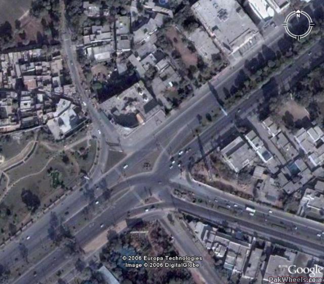 Satellite Images of Lahore (Google Earth)   Car Parts   PakWheels