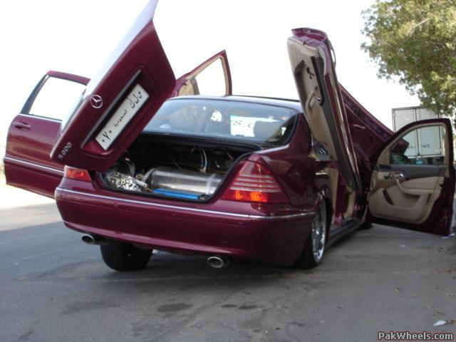 Merc SClass Suped Up Spotting Hobbies Other Stuff - Suped up