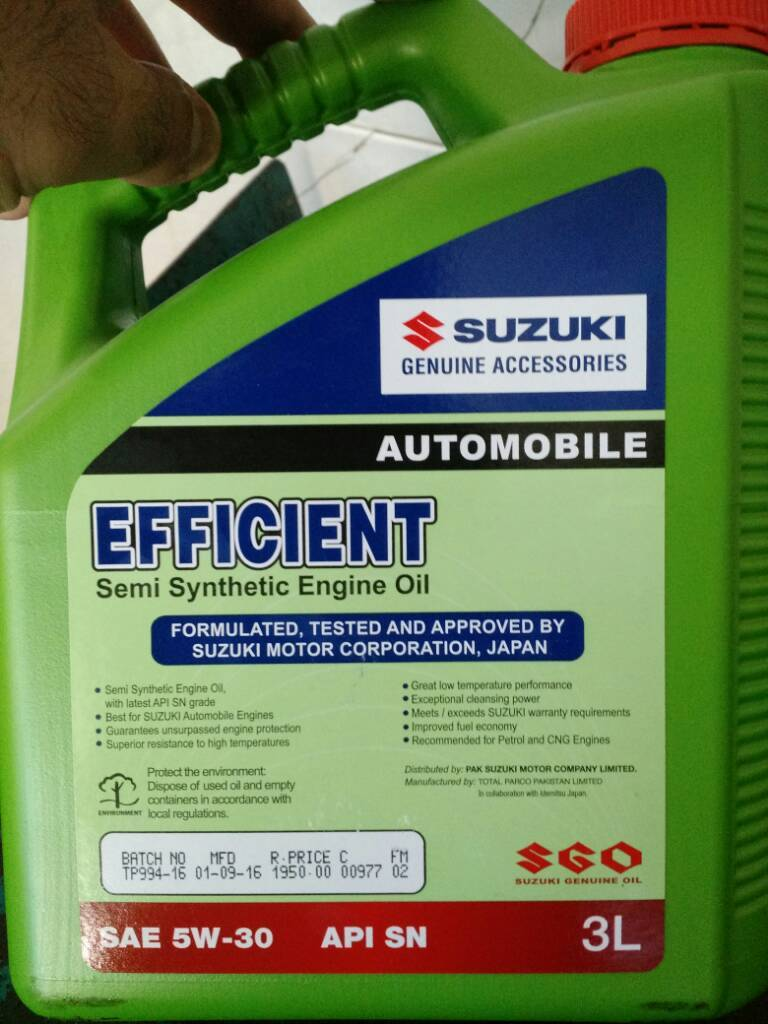 Engine Oil Recommendation - Swift - PakWheels Forums