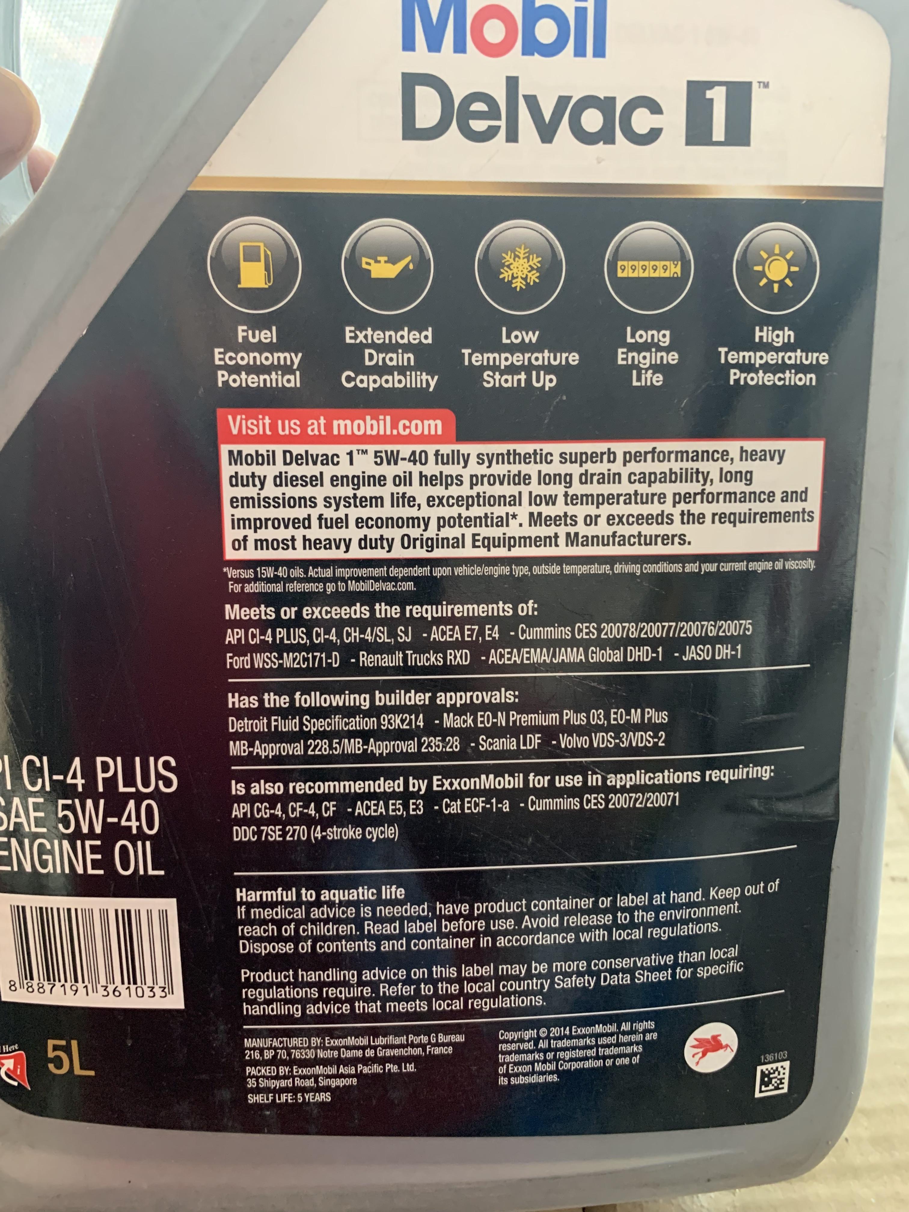 2018 Fortuner 2 8 Diesel Engine oil recommendation
