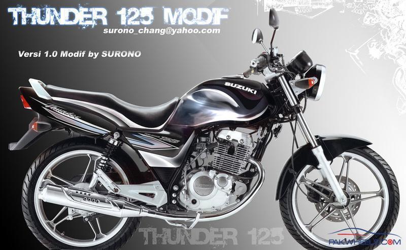 Suzuki Thunder  Modified