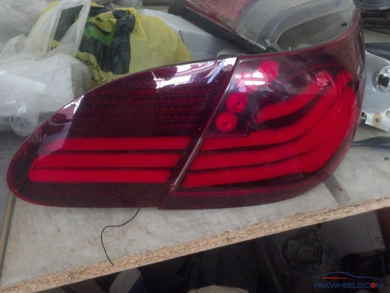 Toyota Corolla Altis 2006 7 Series Led Lava Tail Lights