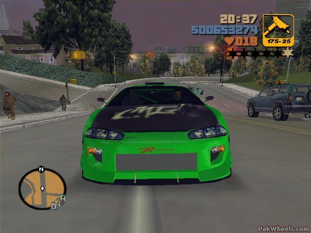 Moded And Tuned Cars In GTA-3---- - Non Wheels Discussions