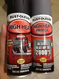 High Heat Spray Paint Brand Rust Oleum For Sale Car