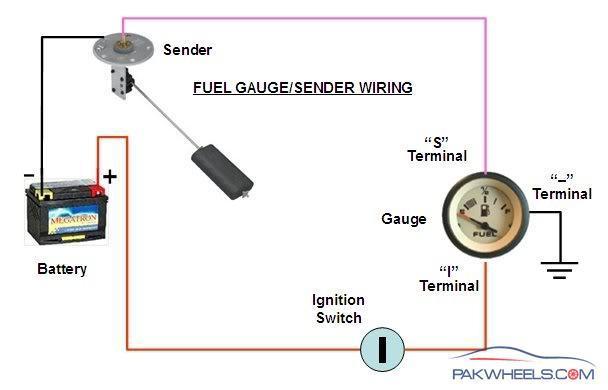 Making Led Fuel Gauge For My Car Diy Projects Pakwheels Forumsrhpakwheels: Car Fuel Gauge Wiring Diagram At Gmaili.net