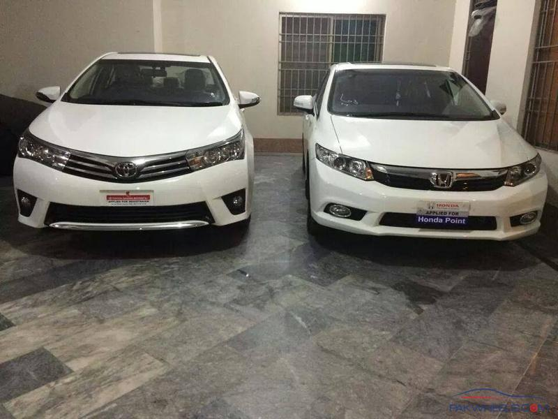 Toyota Corolla Altis Grande 2014 Or Honda Civic 2014