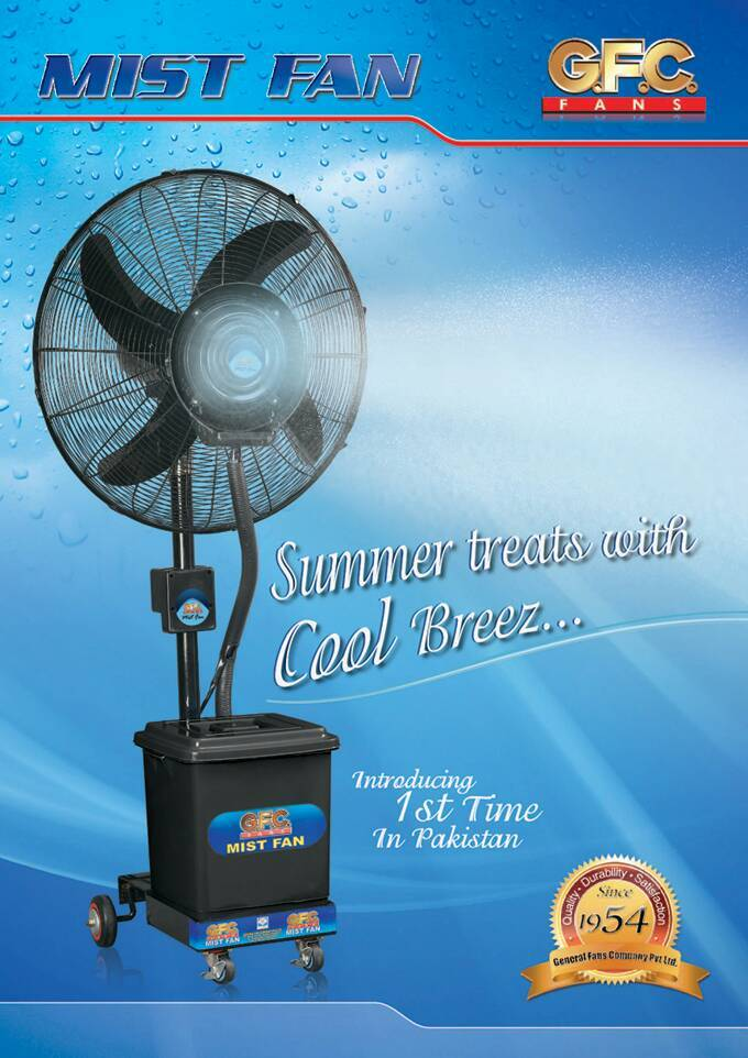 Air Conditioner Fan >> Has anyone used Gfc mist fan? - General Lounge - PakWheels