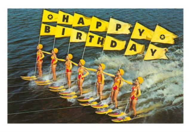Открытки с днем рождения серферу, днем