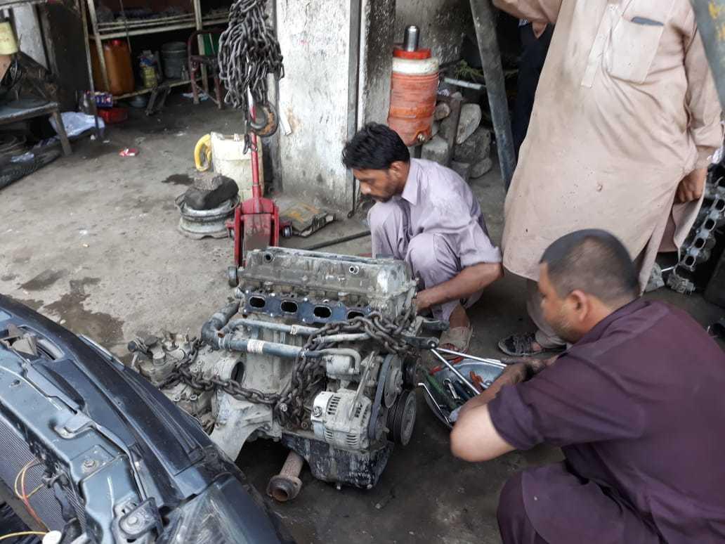 Suzuki liana engine swap (m18a) - Liana - PakWheels Forums