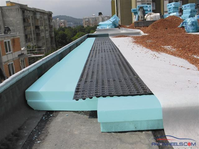 Heat proofing of roof non wheels discussions pakwheels for Thermo sheath insulative sheathing