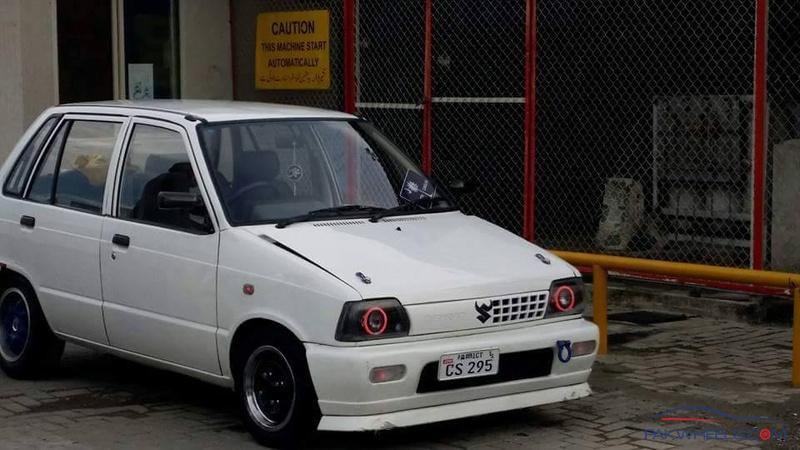 Suzuki Mehran Modified Projector Lights Mehran