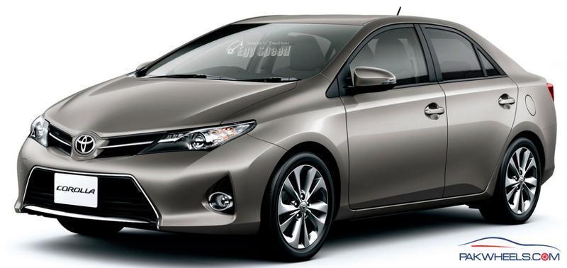 Possible New Toyota Corolla 14 Shape Corolla