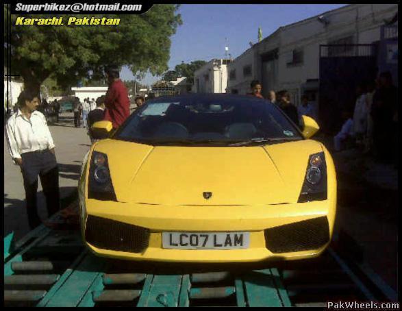 Lamborghini In Islamabad Spotting Hobbies Other Stuff
