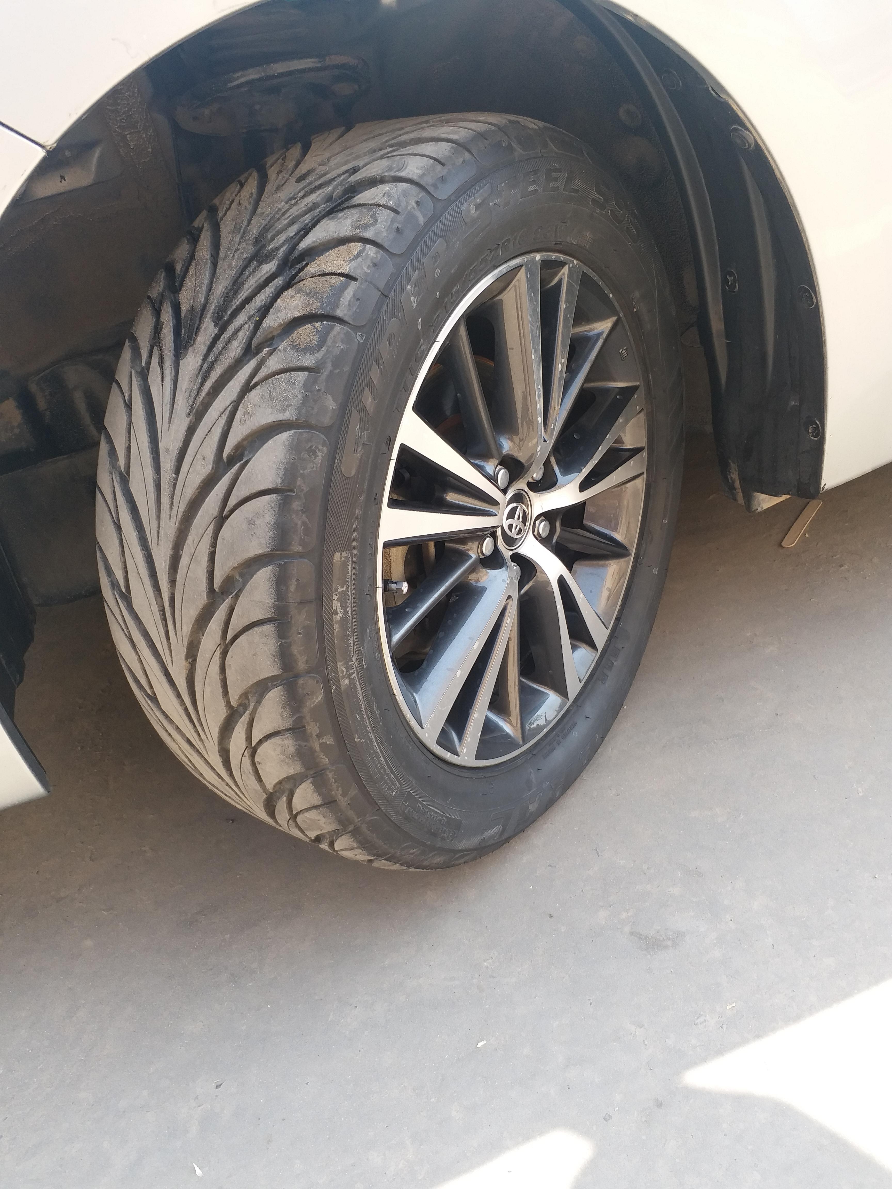 Installed 2018 Genuine Grande Rims In 2015 Model Toyota Corolla