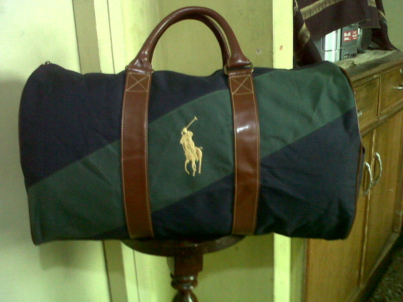 Ralph Lauren Polo Duffle Bag for sale - Non Wheels Discussions ... 5cccf457eaebe