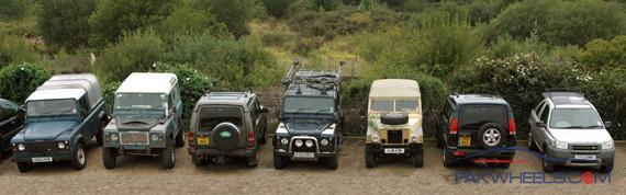 Pakistan land rover club general 4x4 discussion for Land rover garage