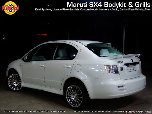 Maruti SX4       The 'Mod' scene and 'kitup' pics - Mechanical