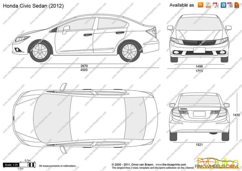 Honda Civic Size