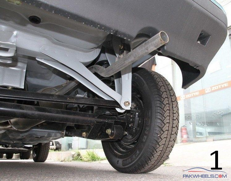 Mehran rear suspension system alteration  help required? - Mehran