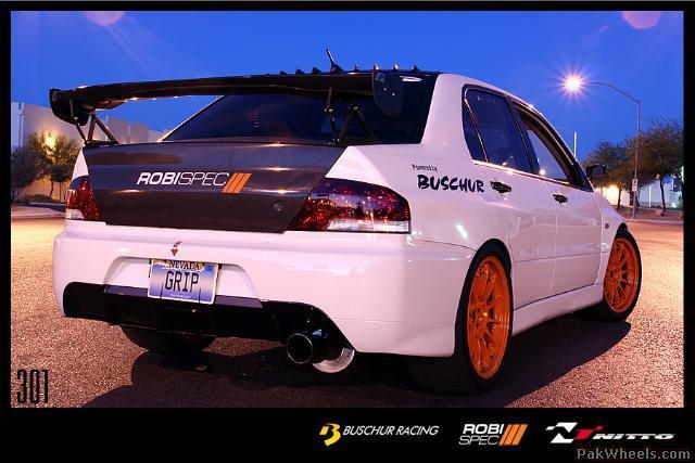Pics: Robispec Buschur Powered Evo - General Car Discussion