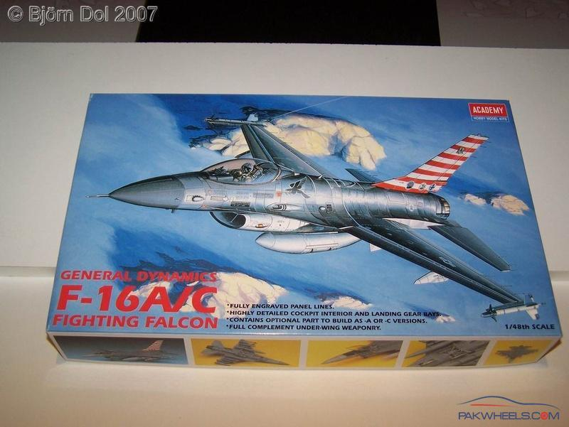 F-16 Falcon and JF-17 Thunder model kits for sale